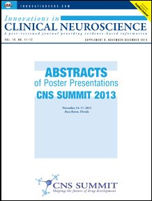 CNS SUMMIT 2013 ABSTRACTS