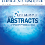 CNS Summit 2016 Abstracts of Poster Presentations