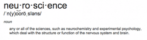 Neuroscience_Definition
