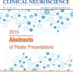 Supplement to November–December 2015 Issue: Abstracts of Poster Presentations: CNS Summit 2015